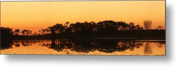 Sunset At St. Mark's Metal Print by Karen Lindquist