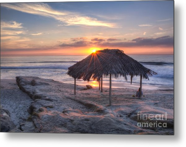 Sunset At Windansea Beach Metal Print