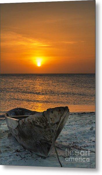 Sunset In Zanzibar - Kendwa Beach Metal Print by Pier Giorgio Mariani