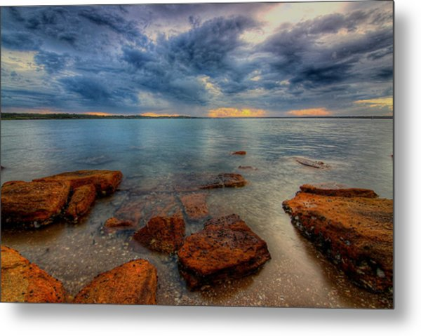 Sunset Surprise Metal Print