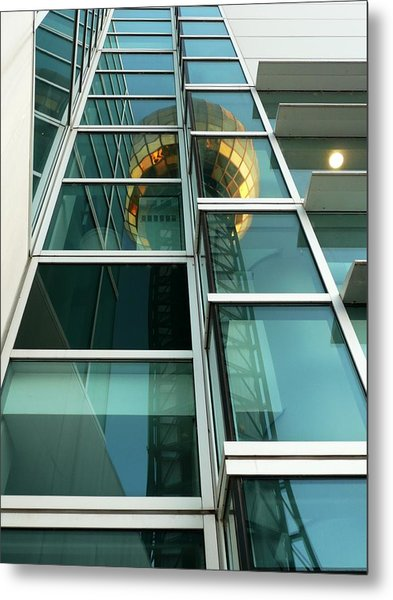 Sunsphere Reflections Metal Print