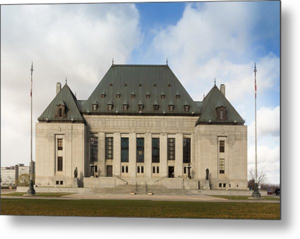 Supreme Court Of Canada Building Metal Print