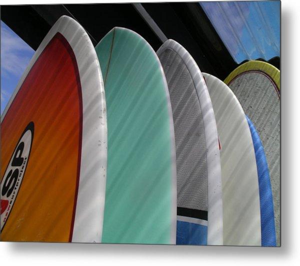 Surf Break Metal Print