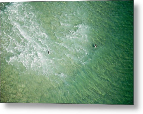 Surfers, Gold Coast Metal Print by Brett Price