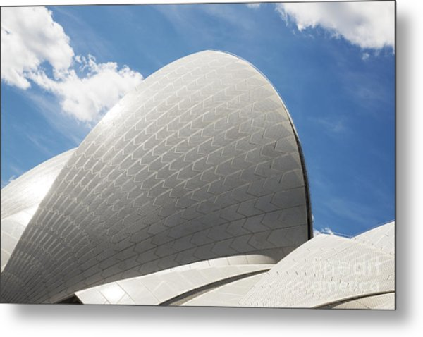 Sydney Opera House Detail In Australia Metal Print