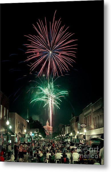 Sylva 4th Of July 2004 Metal Print