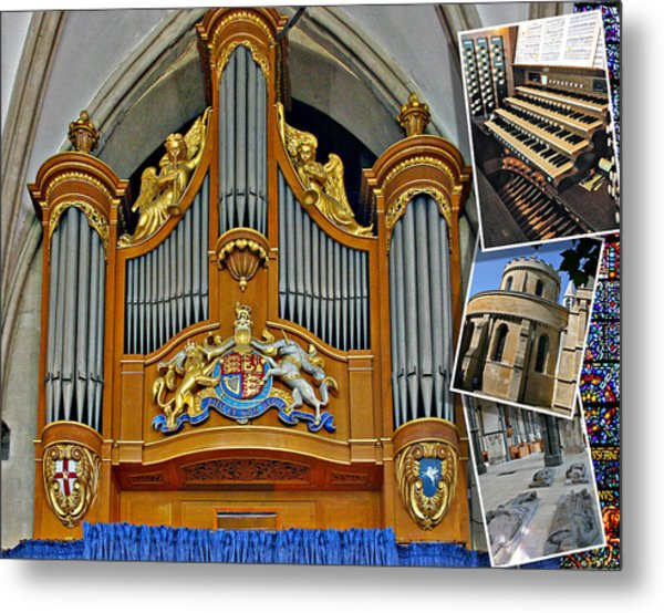 Temple Church London Metal Print