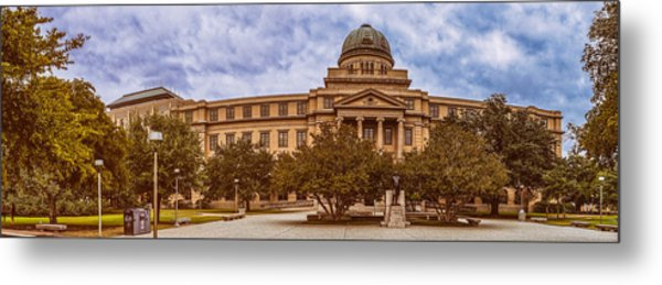 Texas A And M Academic Plaza - College Station Texas Metal Print