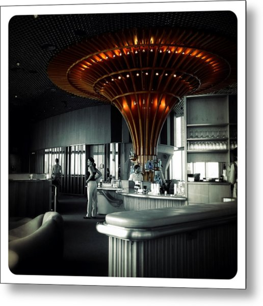 The Bar Metal Print