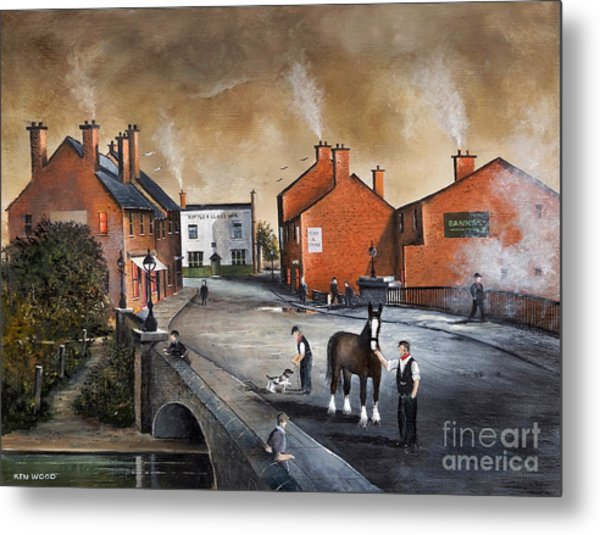 The Blackcountry Village Metal Print