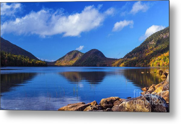 The Bubbles And Jordan Pond. Metal Print