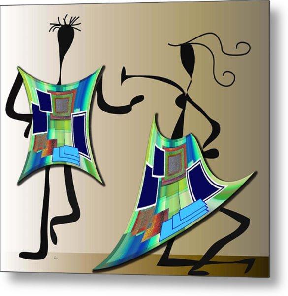 The Dancers Metal Print