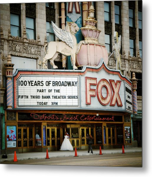The Fox Theatre Metal Print