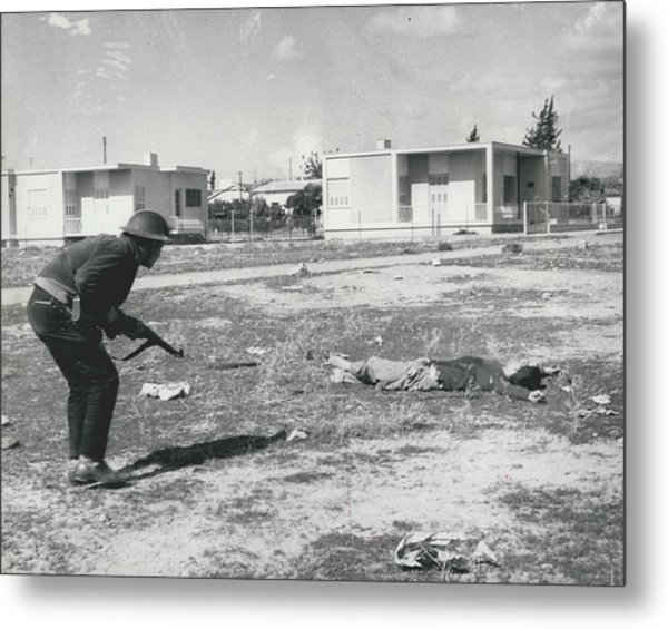 The Massacre Of Limassol Metal Print by Retro Images Archive