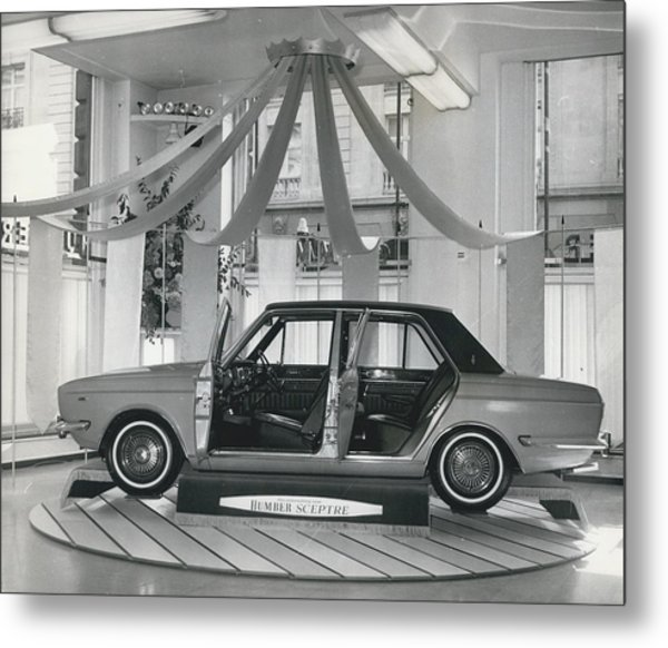 The New Humber Scepter Metal Print by Retro Images Archive