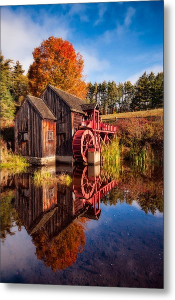 The Old Grist Mill Metal Print