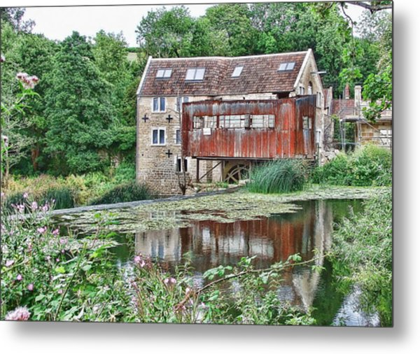 The Old Mill Avoncliff Metal Print