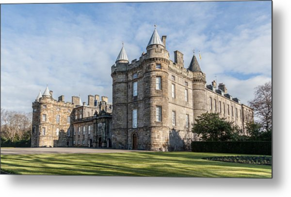 The Palace Of Holyroodhouse Metal Print