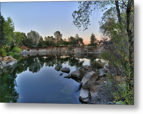 Metal Print featuring the photograph The Quinn Quarry by Jim Thompson