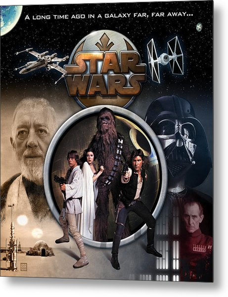 A New Hope Metal Print by Edward Draganski