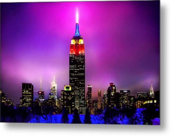 The Red Empire Metal Print