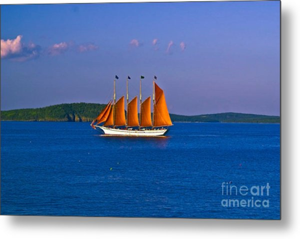 The Schooner Margaret Todd. Metal Print