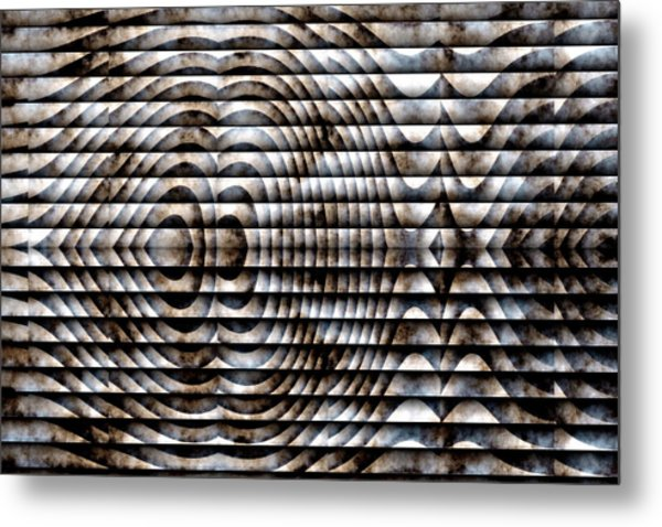 Metal Print featuring the digital art The Symbol by Mihaela Stancu