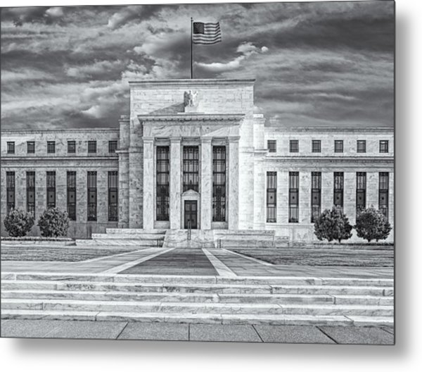 The Us Federal Reserve Board Building Metal Print