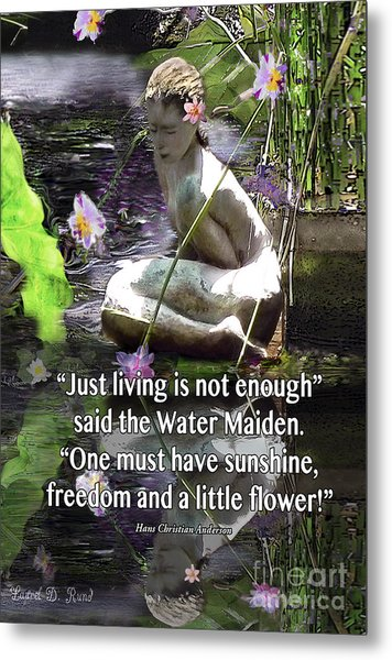 The Water Maiden Metal Print