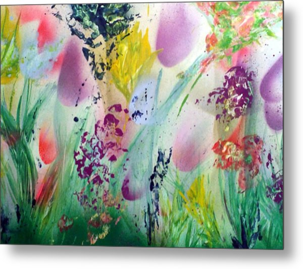 Thinking Of Spring Metal Print