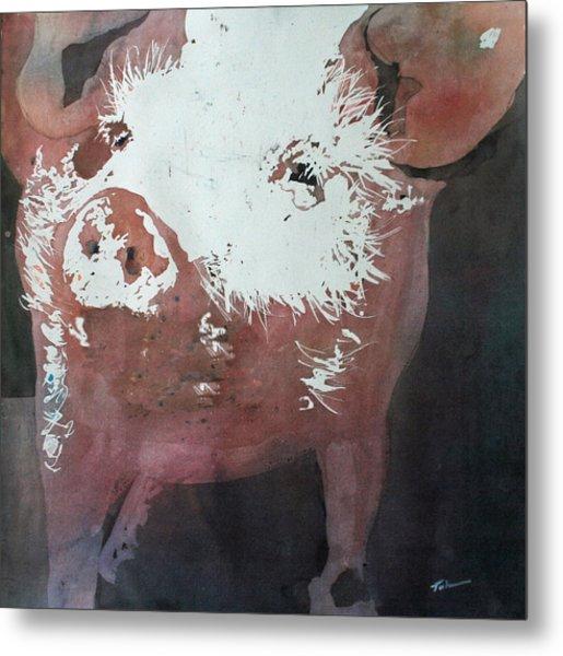 This Little Piggy Metal Print by Tammy Tatum