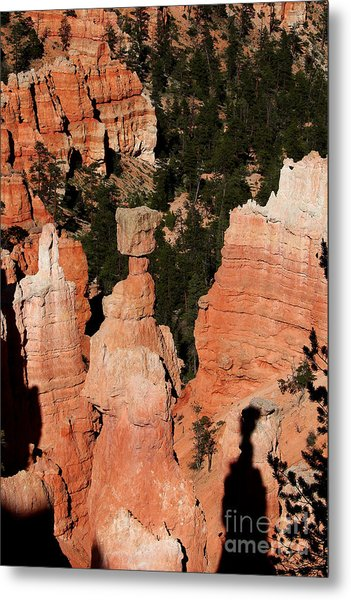 Metal Print featuring the photograph Thors Shadow by Jemmy Archer