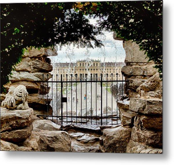 Through The Gate Metal Print by Viacheslav Savitskiy