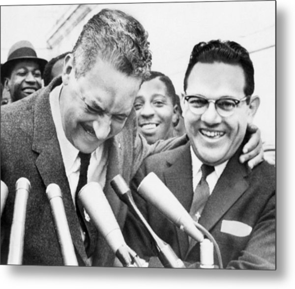 Thurgood Marshall (1908-1993) Metal Print by Granger