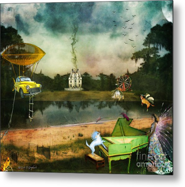 To Wish Impossible Things Metal Print
