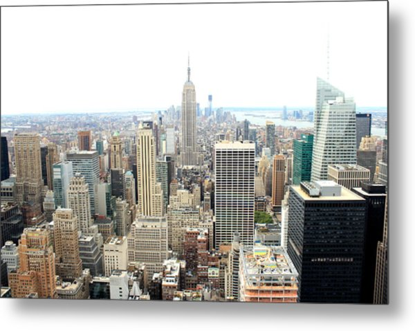 Top Of The Rock Metal Print by Jon Cotroneo