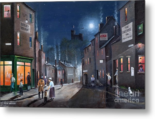 Tower Street Dudley C1930s Metal Print