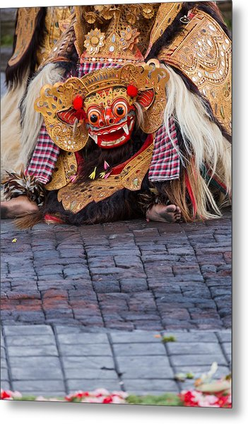 Traditional Dance - Bali Metal Print