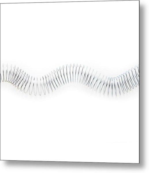 Transverse Wave Metal Print