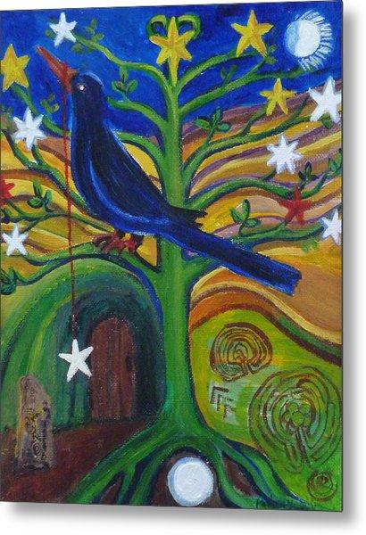 Tree Of Stars Metal Print