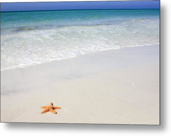 Tropical-beach5 Metal Print
