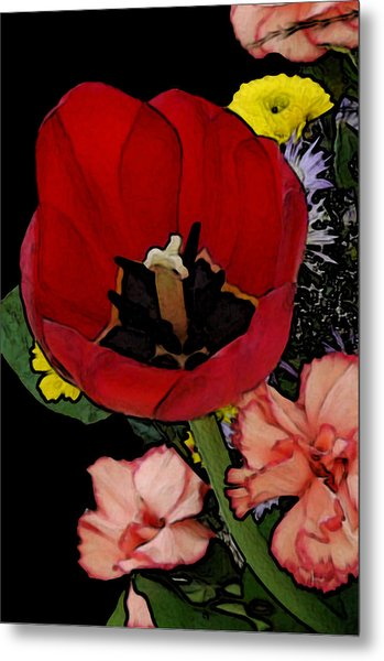 Tulip Number One Metal Print