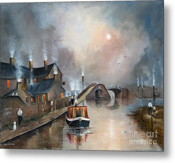 Twilight Departure Metal Print