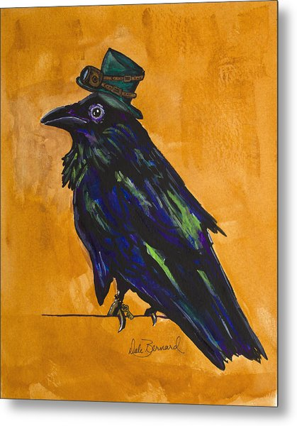 Uncommon Raven Love 4 Metal Print
