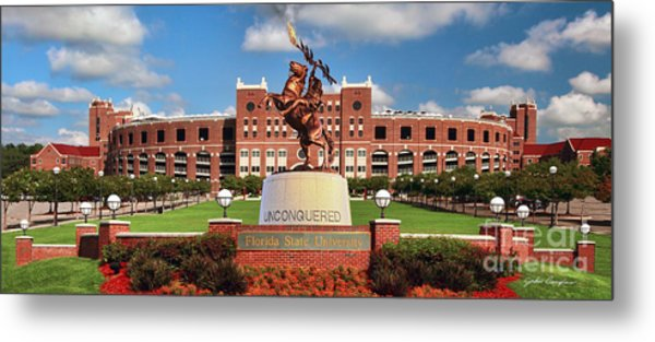 Unconquered Metal Print