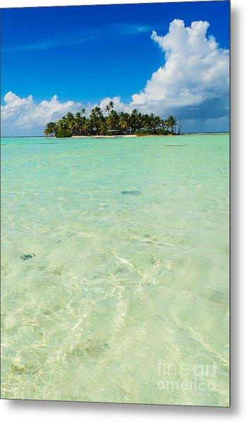 Uninhabited Island In The Pacific Metal Print