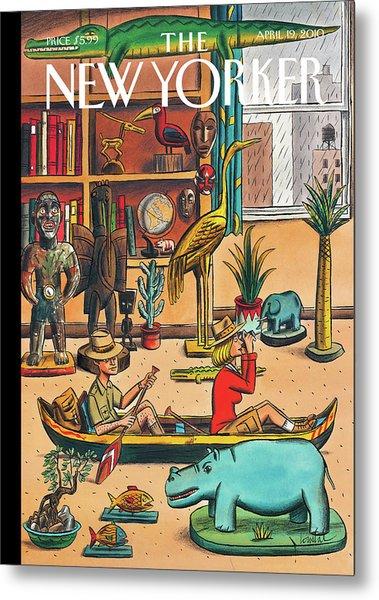 New Yorker April 19th, 2010 Metal Print