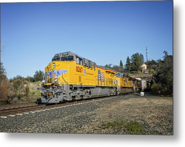Metal Print featuring the photograph Up 8267 by Jim Thompson