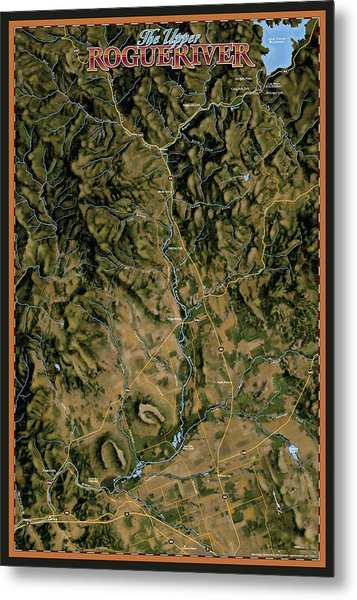 Upper Rogue River Metal Print by Pete Chadwell