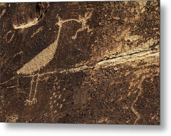 Usa, Arizona, Petrified Forest Metal Print